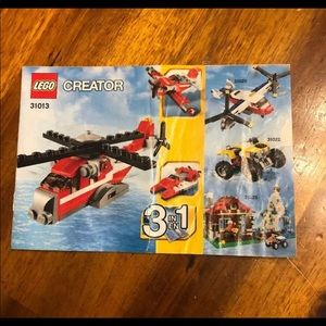 LEGO Creator Manual ONLY